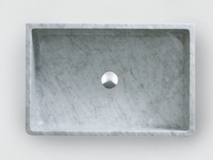 Agape Outdoor Carrara countertop sink ACER0730EPPG