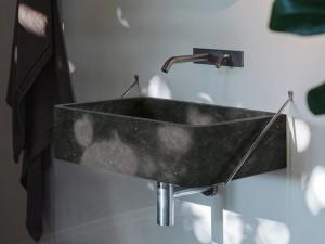 Agape Outdoor Carrara wall sink ACER0730ESPG