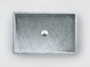 Agape Carrara countertop sink ACER0730P