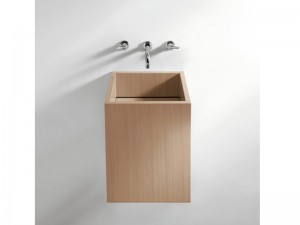 Agape Cube wall or countertop sink ACER0770M