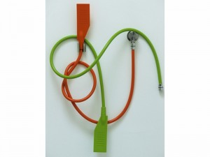 Agape Kaa handshower and flexible hose in silicone CRUB0914