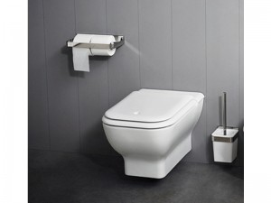 Agape Memory wall toilet with soft close seat ACER0898WS
