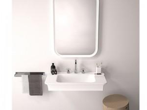 Agape Novecento XL countertop or wall sink ACER10703R