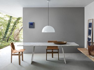 Agapecasa Asolo dining table in marble