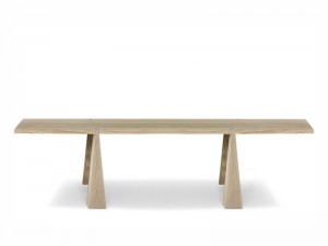 Agapecasa Incas dining table in wood with 4 supports