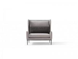 Amura Alice fabric armchair with headrest ALICE010H