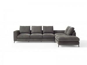 Amura Dorsey leather sectional sofa DORSEY031.052