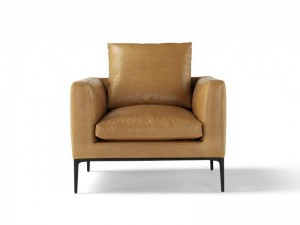 Amura Leonard leather armchair LEONARD010