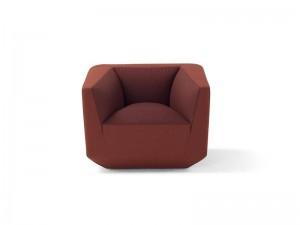 Amura Panis fabric armchair PANIS010