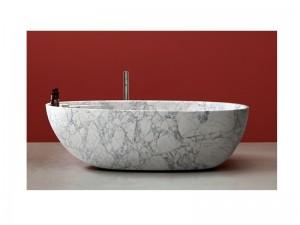 Antonio Lupi Eclipse hot tub in marble ECLIPSE