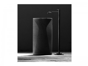 Antonio Lupi Introverso pedestal sink INTROVERSO1
