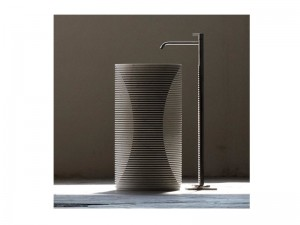 Antonio Lupi Introverso pedestal sink INTROVERSO2