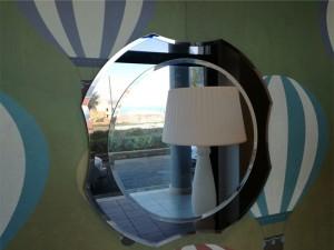 Antonio Lupi Luxor round mirror LUXOR7