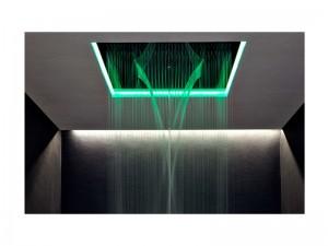 Antonio Lupi Meteo ceiling shower head with double cascade METEOXXL