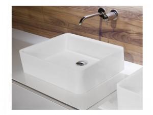 Antonio Lupi Servoretto countertop or undertop sink 50cm RETTOMOOD50-Flumood