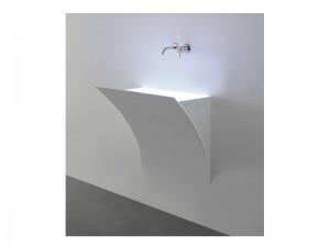 Antonio Lupi Strappo wall sink STRAPPO