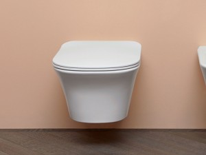 Antonio Lupi Cabo wall toilet with soft close toilet seat