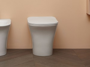 Antonio Lupi Cabo floor toilet with soft close toilet seat