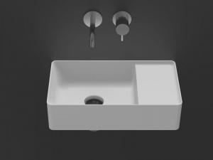 Antonio Lupi Simplo countertop or wall sink SIMPLOMANI