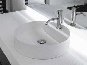 Antonio Lupi Simplo countertop sink SIMPLOTONDO