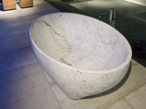 Antonio Lupi Solidea stone hot tub SOLIDEA
