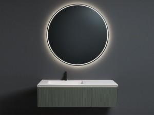 Antonio Lupi Albore round mirror with white led ALBORE72W