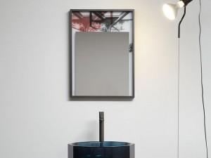 Antonio Lupi Collage mirror with print COLLAGE350