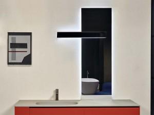 Antonio Lupi Neuluce rectangular mirror with white led NEULUCE1