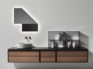 Antonio Lupi Specchidicarta mirror with white led SDC
