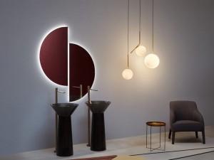 Antonio Lupi Spicchio mirror with white led SPICCHIO90W