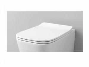 Artceram A16 soft close toilet seat in matt white ASA00105