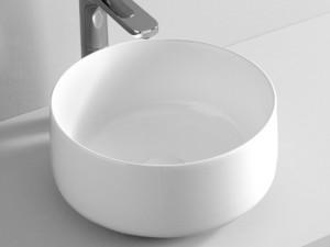 Artceram Cognac35 countertop sink in matt white COL00405