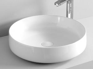 Artceram Cognac48 countertop sink in matt white COL00205