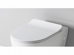 Artceram File soft close toilet seat in matt white FLA01405