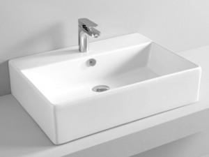 Artceram Quadro 65 wall or countertop sink QUL003