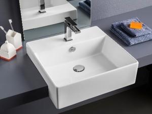 Artceram Quadro 50 drop in sink QUL004