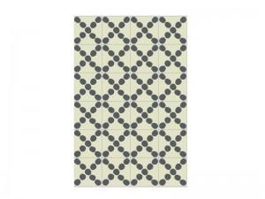 Bisazza Cementiles Decorations cement tiles Croce White