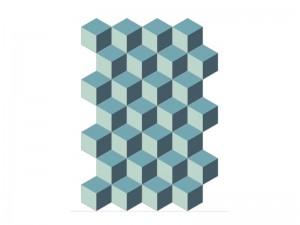 Bisazza Cementiles Decorations cement tiles Cubic Pacific