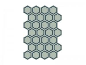 Bisazza Cementiles Decorations cement tiles Honey Bismark