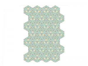 Bisazza Cementiles Decorations cement tiles Oak Iceberg