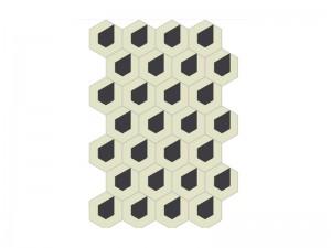 Bisazza Cementiles Decorations cement tiles Rain 10