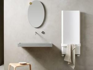 Caleido Bent bathroom heater FBEN12520BCP