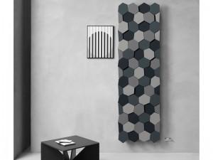 Caleido Honey design vertical heater FHONE2200C