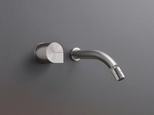 Cea Duet wall 2 holes bidet tap with adjustable spout DET19