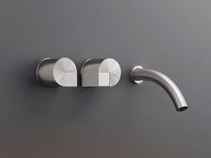 Cea Duet wall 3 holes sink tap DET20
