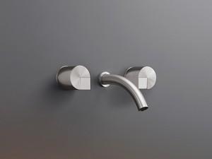 Cea Duet wall 3 holes sink tap DET24