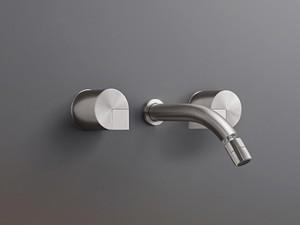 Cea Duet wall 3 holes bidet tap with adjustable spout DET27