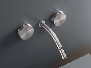 Cea Giotto wall 3 holes bidet tap with adjustable spout GIO15