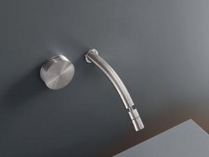 Cea Giotto wall 2 holes hydroprogressive bidet tap with adjustable spout GIO20