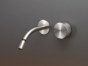 Cea Giotto Plus wall 2 holes bidet tap with adjustable spout GIO73
